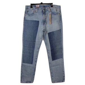 Levi's Patchwork Denim Jeans 511 Slim  Jeans